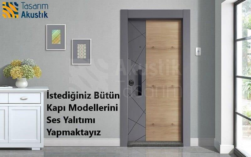 Ses Yalıtımlı Kapı